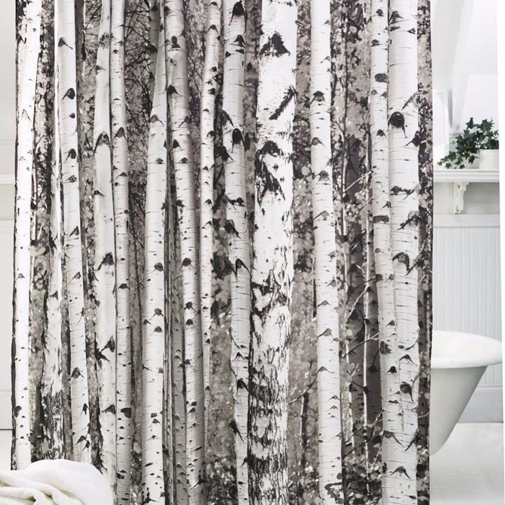 2018 Waterproof Bathroom Brown Tree 100 Polyester From Samanthaadam1820 1573