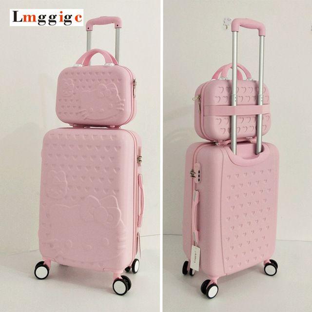 915b1bf8139f Hello Kitty Luggage Bag