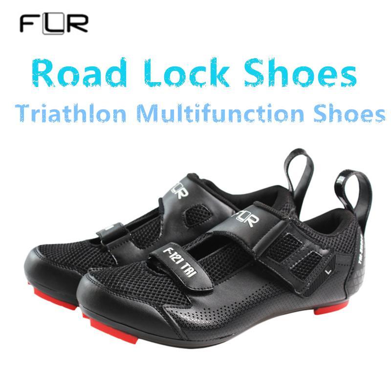 a8e39f6817 2018 NEW FLR Triathlon da donna da ciclismo professionale da ciclismo su  strada scarpe ultraleggere traspirante a buon mercato scarpe da corsa ...