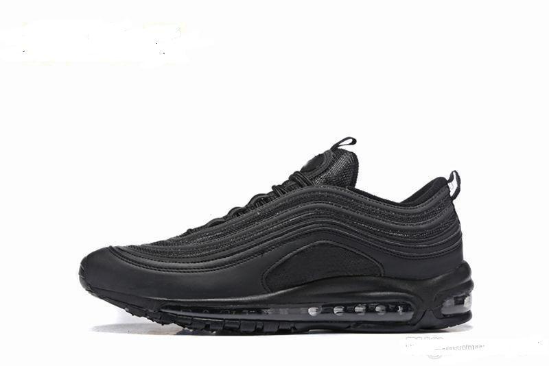 165c136ea9 97 Running Shoes 97s Silver Bullet Triple White Balck Metallic Gold Mens  Women Casual Sport Trainers Sneakers Eur 36-46 97 Running Shoes Running  Shoes for ...