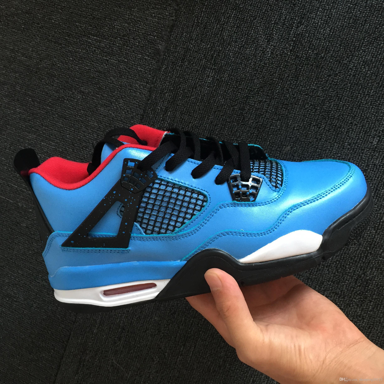766ed20afcf86f New Eminem X Encore 4s HOUSTON Cactus Jack 4s Raptors Famous Jeans DENIM  Black 4 Denim Men Basketball Shoes 4 Blue Jeans Sneakers For Sale Kevin  Durant ...