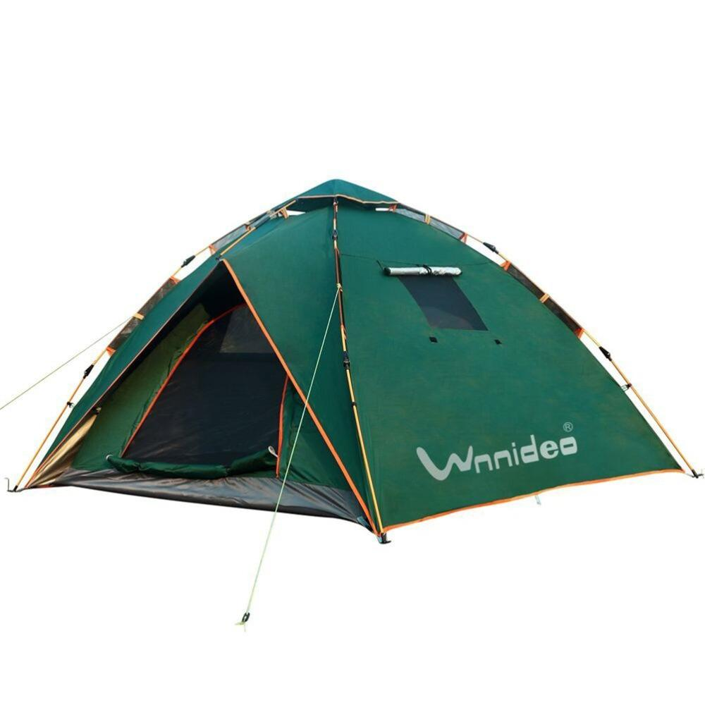 88758ec8583 Wnnideo 3 4 Person Tent With Eatra Rainfly For Outdoor Camping Sun Shelter  Green Camp Tent 2 Man Tent From Capsicum