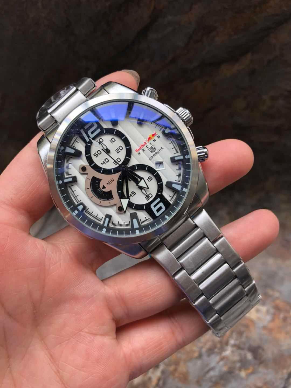 17bfc342ec4 Relogio Masculino 42mm Mens Watches Luxury Brand Waterproof Master ...