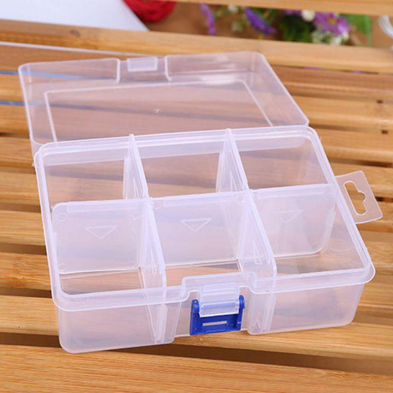 Best Adjustable Finishing Large Plastic Storage Box Compartment Firm