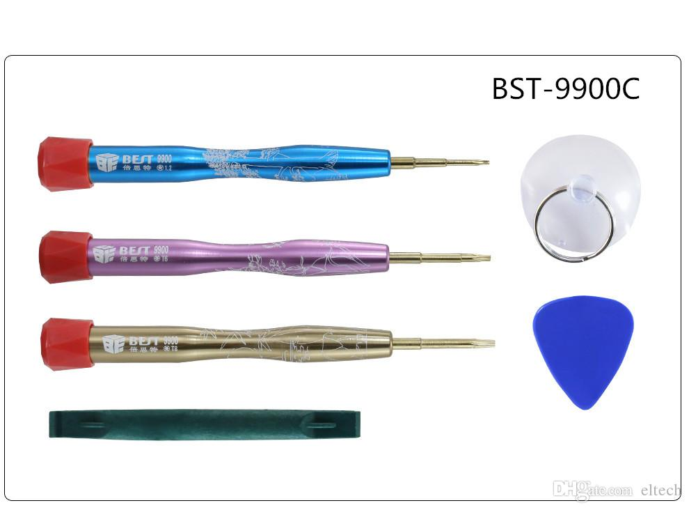 set di cacciaviti di precisione con impugnatura in lega di alluminio di buona qualità