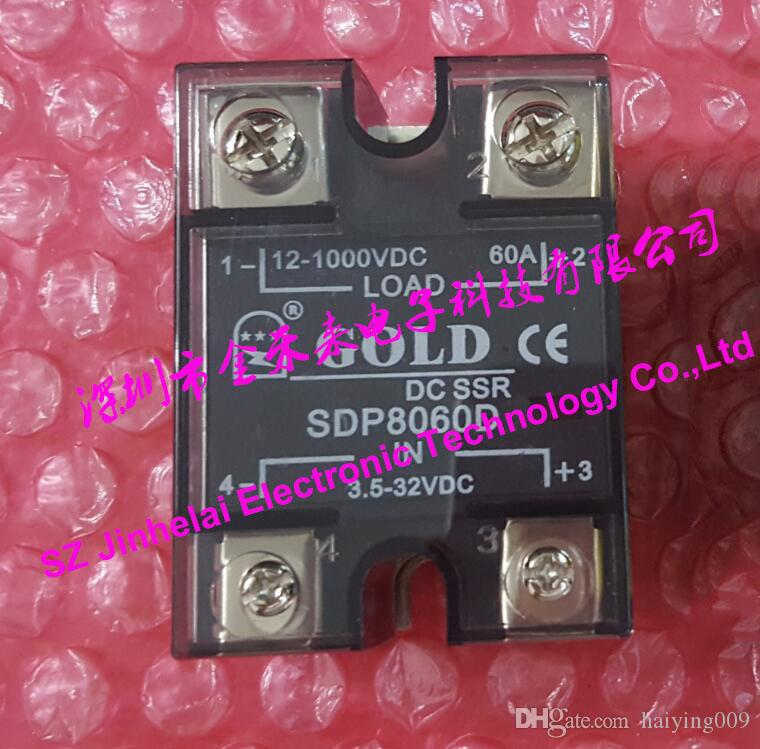 100٪ جديدة ومبتكرة SDP8060D GOLD مرحلة واحدة تتابع الحالة الصلبة DC-DC 12-1000VDC 3.5-32VDC 60A