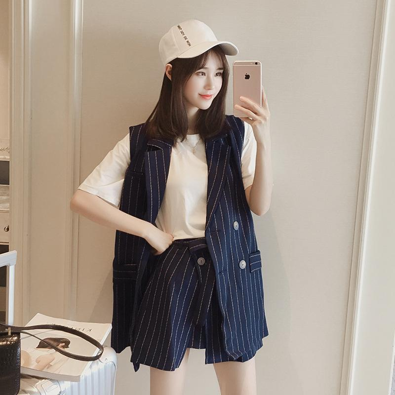 Fashion Women Skirt Suit 2018 New Formal OL Long Sleeve Blazer And Skirt  Set Black White Office Ladies Plus Size Work Uniform UK 2019 From Houmian 90f4f8bf56a5