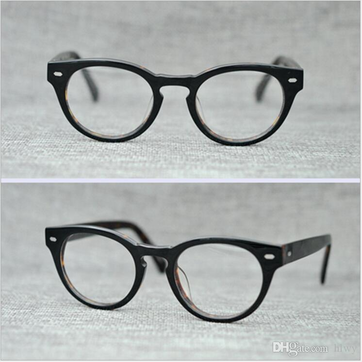 5616ff61b39 PS427 Vintage Small Glasses Clear Lenses Round Optical Spectacle ...