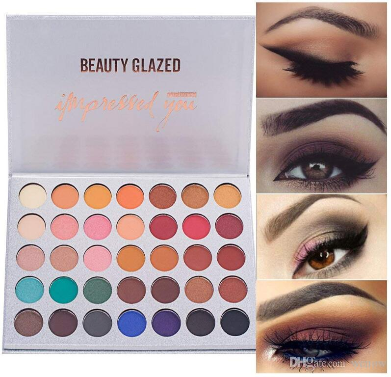 Beauty & Health Matte Eye Shadow Palette Makeup Shimmer Pigment Waterproof Mineral Balm Shade Nude Cosmetic Professional Eyeshadow Pallete