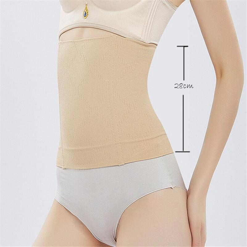 86a3dd919f6a7 2019 2018 Brand New Lady Postpartum Belly Recovery Band After Baby Tummy  Tuck Belt High Waist Body Slimming Croset Shapers Underwear From  Eventswedding