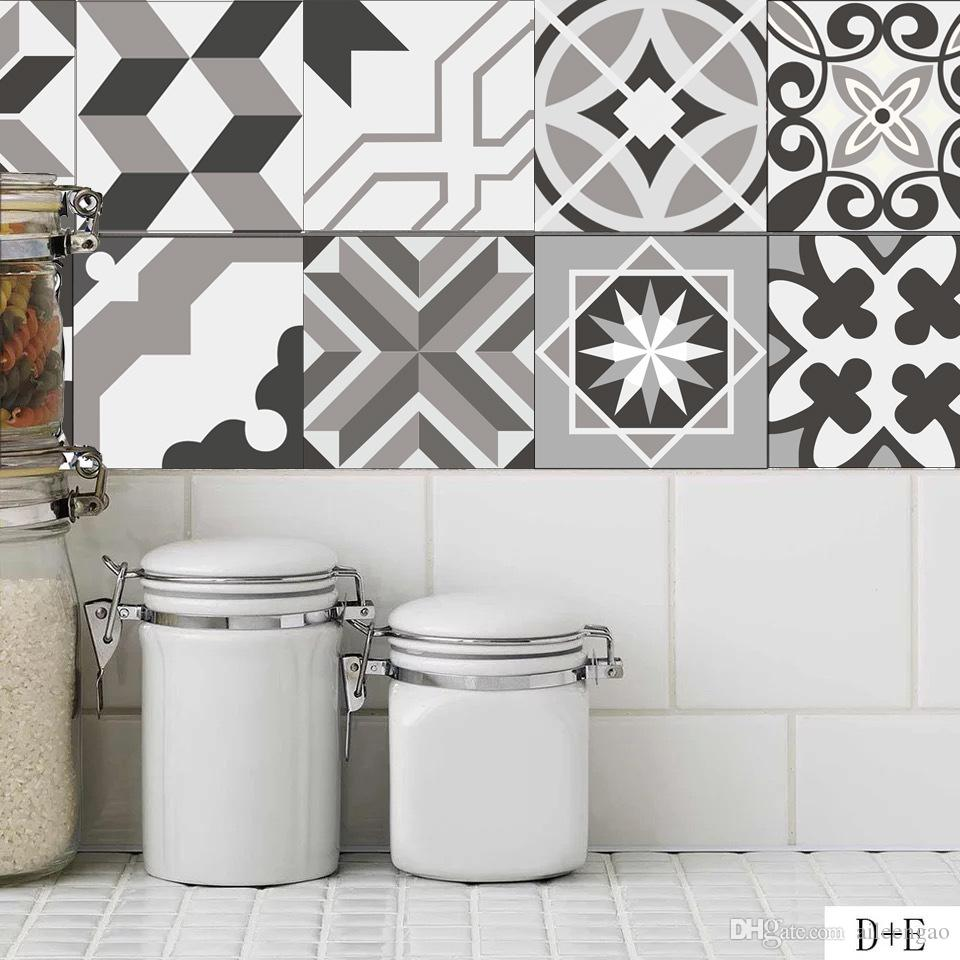 The Tropical Style Decal For Wall 20x20cm Tile Stickers Home ...