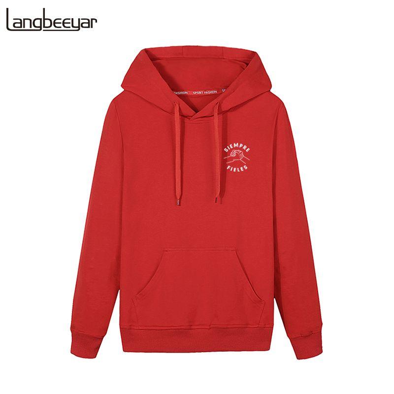 df5b1637b7c 2018 New Fashion Mens Hoodie Pullover Hoody Spring Boys Sweatshirt ...