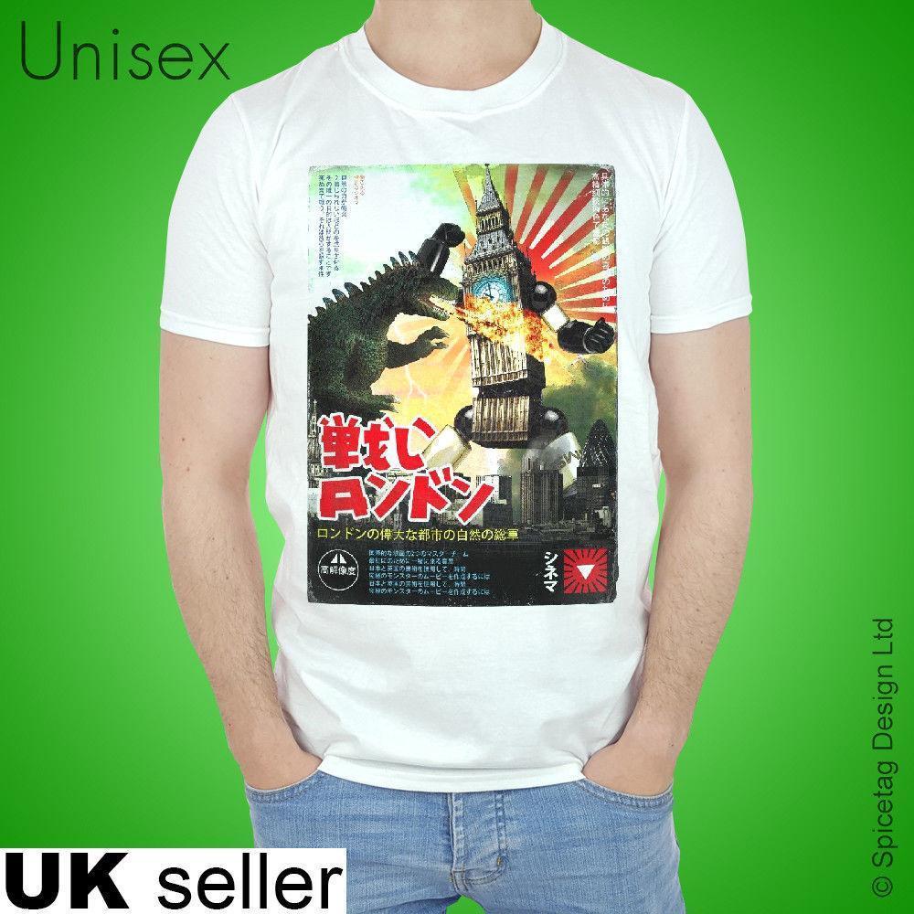 Incroyable Acheter Londres Big Ben Robot T Shirt Rétro Japonais Affiche De Film Japon  Film Nouvelle Arrivée Tees Homme Casual Garçon T Shirt Tops De $12.08 Du  Lijian13 ...
