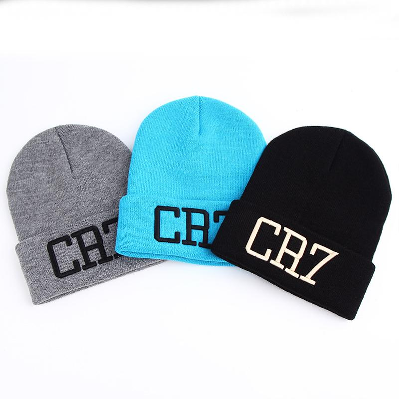 616444fc4b3 VORON New Hat Sport Winter CR7 Letter Cap Men Hat Beanie Knitted Hiphop Winter  Hats For Women Fashion Warm Caps S926 Beanie Hats For Men Black Beanie From  ...