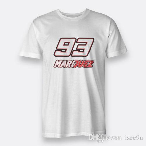 5122b88f82cb Marc Márquez Champs Size S 3XL Tees White Men'S Cotton T Shirt ...