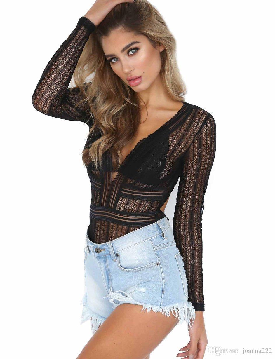 249b671b7d7d9d Großhandel Neue Sommer Chiffon Sexy Spitze Leggings Top Kleid V Ausschnitt  Von Joanna222, $11.06 Auf De.Dhgate.Com | Dhgate