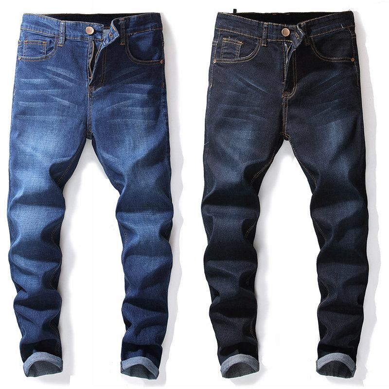 4b128011bbb 2019 Fashion Vintage Solid Color Jeans For Men New Arrival 2018 Youth Denim  Pants Casual Modern Man Jeans Boy Jean Plus Size 36 38 40 42 From Wrjmike