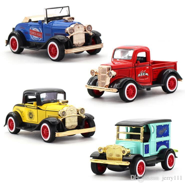Best Quality 1:36 Alloy Car Pull Back Diecast Model Cars 4 Designs ...