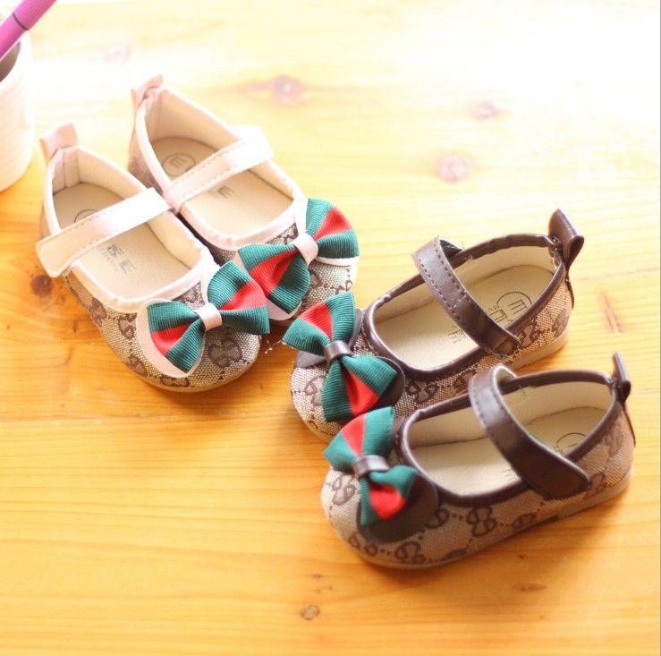 e11726b6702b2 Acheter Chaussures Enfants Coréens Chaussures Chaussures De Princesse  Automne Printemps 2018 Stripe Butterfly Baotou Enfants Chaussures De Sport  1 5 Ans ...