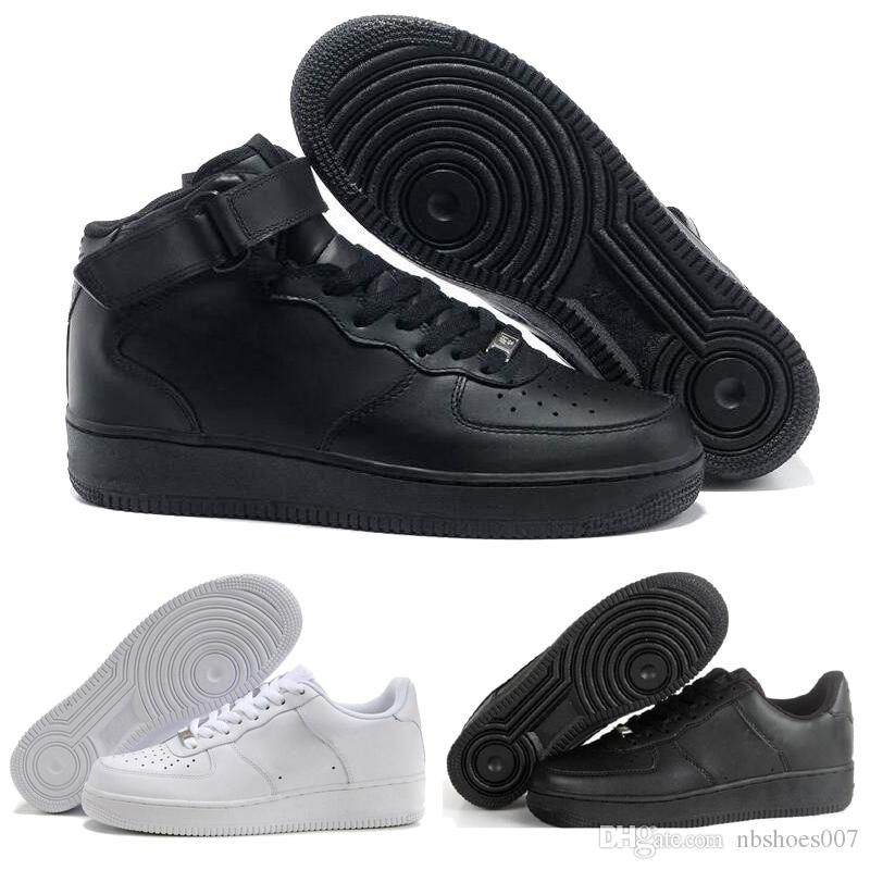 Acquista Sconto Hot Brand Nike Air Force Af1 One 1 Dunk Uomo Donna Flyline  Running Shoes Skateboarding Ones Scarpe High Low Cut Bianco Nero Outdoor  Sneakers ... 941972ce752