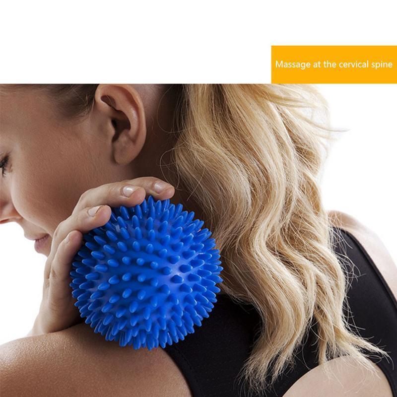 Massageball in Erdnussform Anti-Stress f/ür K/örper Fitness PVC H/ände und F/ü/ße f/ür Yoga