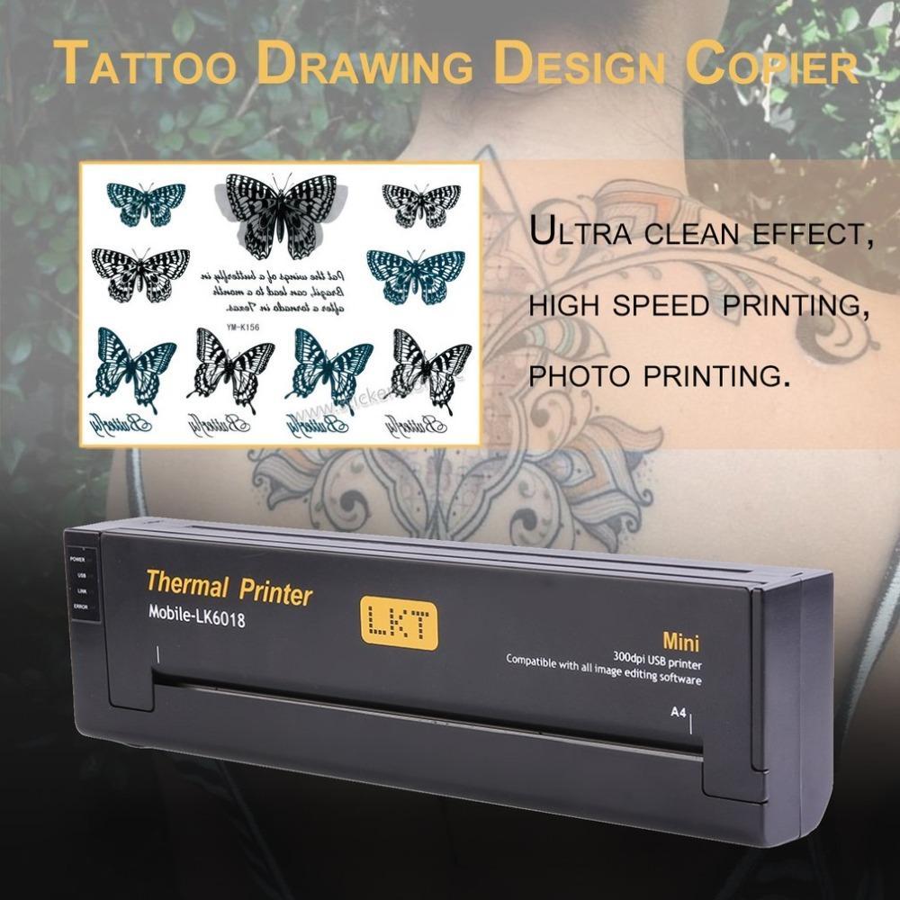 Großhandel Professionelle Leichte Tattoo Zeichnung Design Kopierer