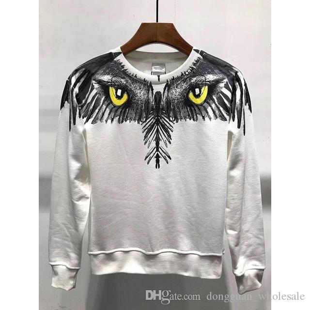 9cad5fd2bc1b 2019 Marcelo Burlon Hoodies Men Women Autumn RODEO MAGAZINE Milan MB Sweatshirts  Pullover Hip Hop 3D Printed Elephant Hoody Clothing From Dongguan_wholesale  ...