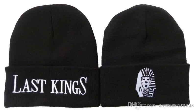 Neue Lastkönigbeanie mit einem Pom-Winter warme populäre Beanies Hüte für Mannfrauen heißen Markenkappen LK gestrickter Hip-Hop-Hut