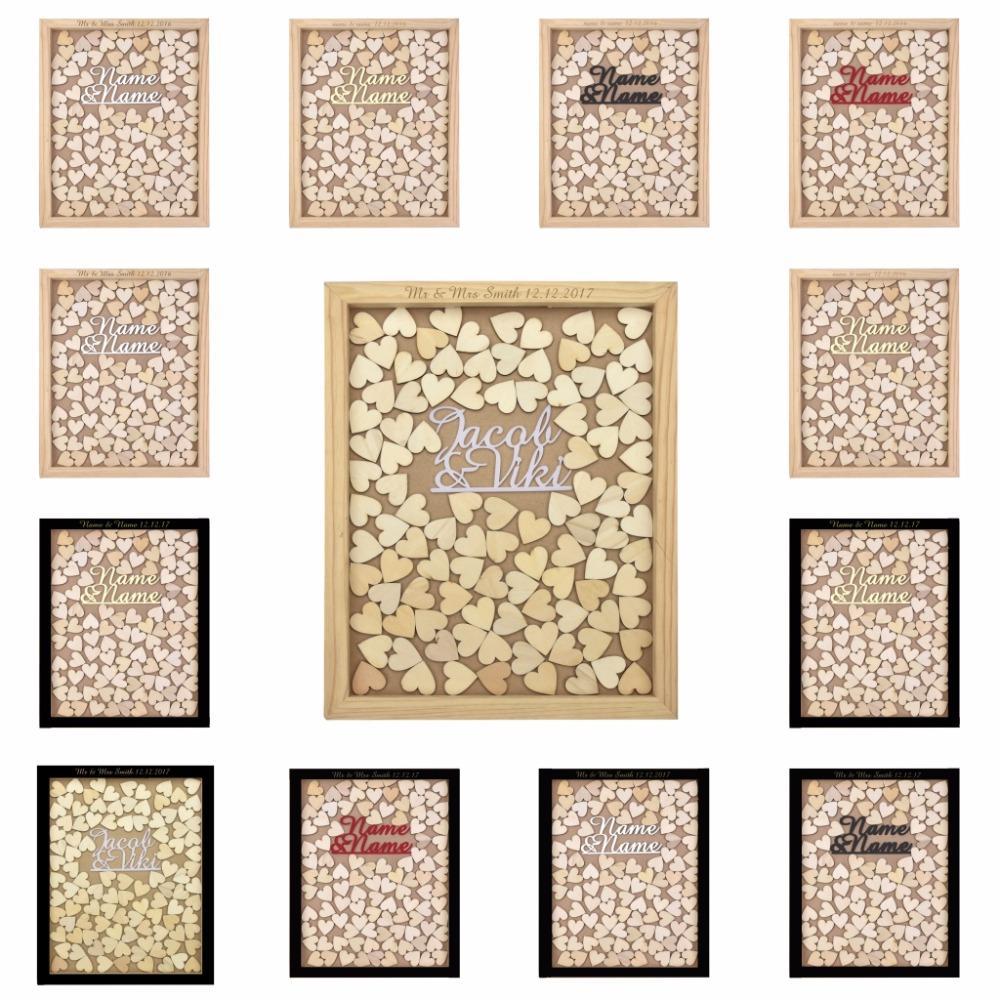 Grosshandel Personalisierte Gravierte Rustikale Drop Top Holz