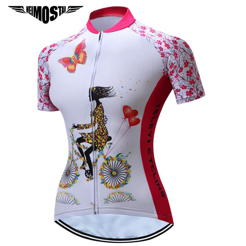 Weimostar 2018 Summer Cycling Jersey Women Top Breathable Bicycle Cycling  Clothing Sport Mtb Bike Jersey Shirt Ropa Ciclismo Bicycle T Shirts Cycle  Jackets ... 27c3b4c65