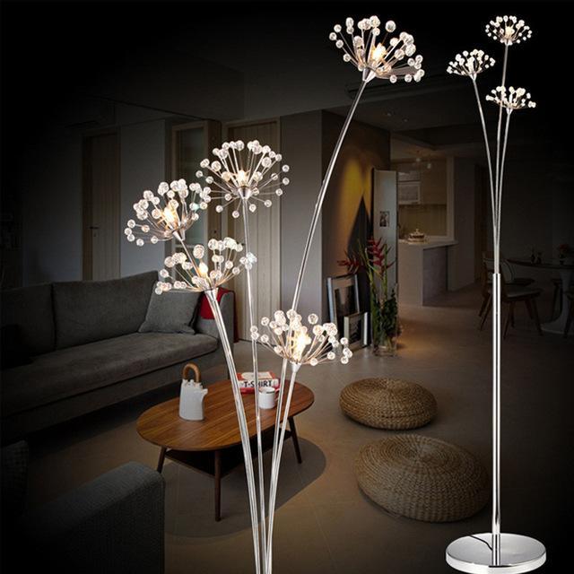 Stehlampen Nordic Feder Boden Lampen Stehend Lampen Wohnzimmer Schlafzimmer Indoor Hause Decor Boden Lichter Leuchten Hochzeit Leuchte Lampen & Schirme