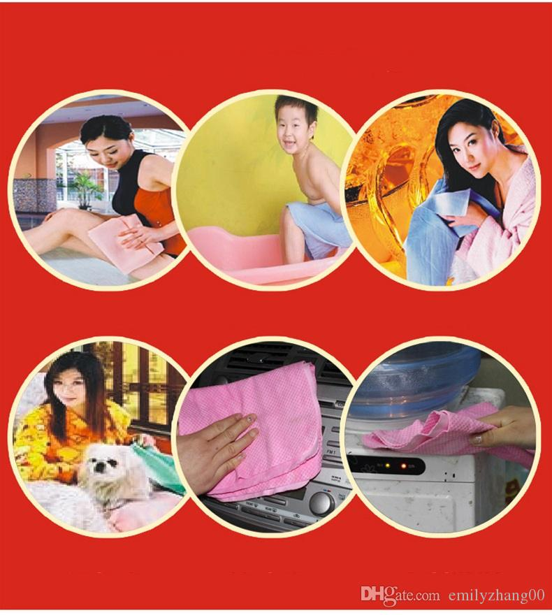 Absorber Shammy Cloth Chamois Towel Synthetic Chamois Leather Towel Car Cleaning Cloth PVA Drying Washing Suede Absorbent Towel