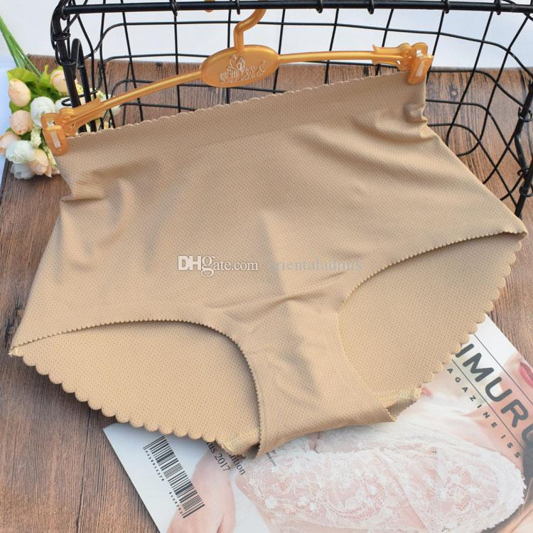 #310 Wholesale women's sexy underwear lingerie middle rise padded butt lifters briefs seamless underpants panties