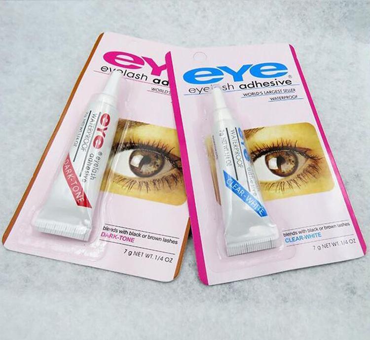 Beauty Makeup Clear White Black Waterproof False Eyelashes Makeup
