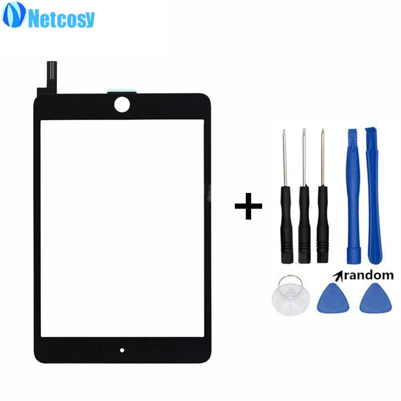 Netcosy Touchscreen For ipad mini 4 Touch screen digitizer glass panel  repair for ipad mini 4 touch panel High quality & Tools