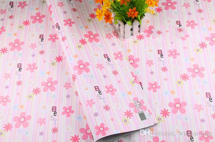 Gift Wrapping Paper Pink Flower Gift Wrap Diy Material Craft Baby