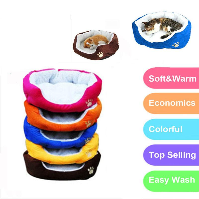 bedding for dogs Cheap Pet Cat Small Dog Bed House Puppy Kitten Kennel Blanket Mat Cushion Sofa Bedding For dogs Products