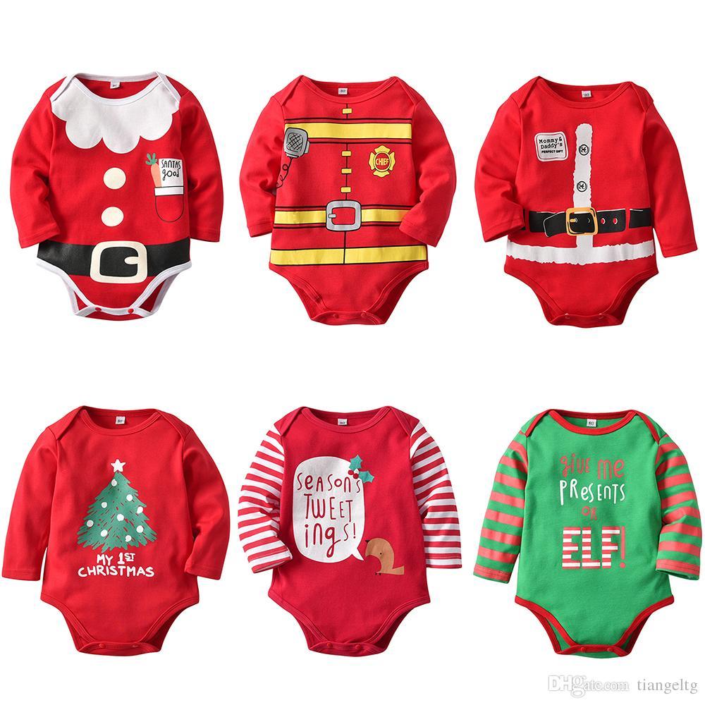 Großhandel Baby Weihnachten Strampler Mein Erstes Weihnachten Mama\'s ...
