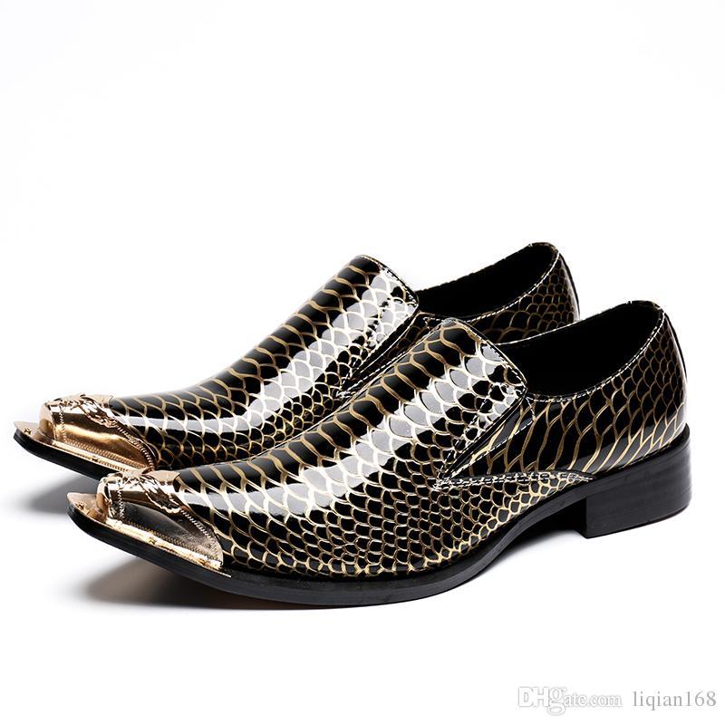 Acquista Scarpe Classiche Da Uomo Vintage In Vera Pelle Di Moda Vintage Scarpe  Da Uomo Nere Da Uomo In Pelle D affari Italiane Nere A  88.44 Dal Liqian168  ... 9236ec8a76d