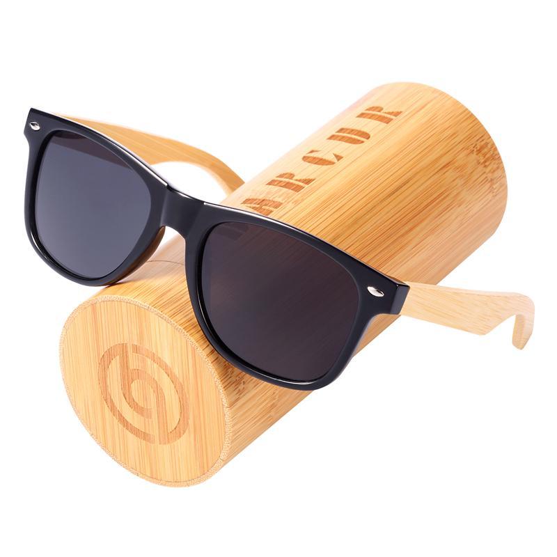 717ad43856 BARCUR Wood Sunglasses Spring Hinge Handmade Bamboo Sunglasses Men Wooden  Sun Glasses Women Polarized Oculos De Sol Masculino Fastrack Sunglasses  Smith ...