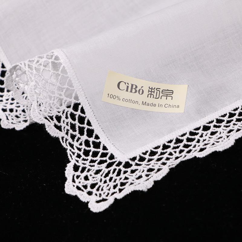 Compre C001: Pañuelos Blancos De Algodón De Primera Calidad 12 ...
