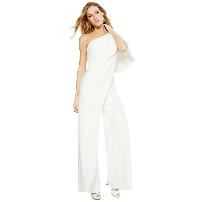 Acheter MUXU Combinaison Blanche Une Pièce Plus La Taille Corps Féminin Femme  Vêtements Été Combinaison Dos Nu Combinaison Femme Corps Féminin De  42.17  Du ... 0b7ff8906de