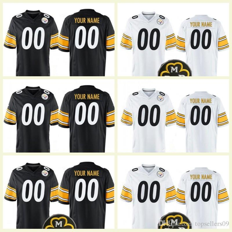 Steelers Custom Jersey  21 Joe Haden 11 Wheaton 25 Artie Burns 43 ... f19f51c94