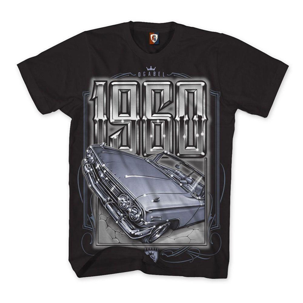 e67d4e180b2 2018 Men S 1960 T Shirt Art Tattoo Ink Skull Car Lowrider Men Funny Casual  Streetwear Hip Hop Printed T Shirt 10 T Shirts Cool Shirts Designs From  Udihakik