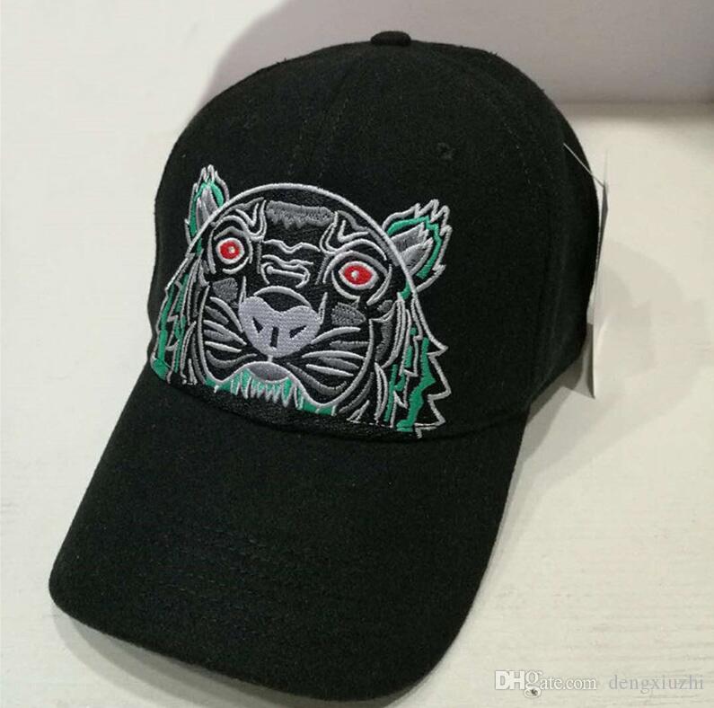 0404dc2cd0e 2018 New Designer Mens Baseball Caps Brand Tiger Head Hats ...