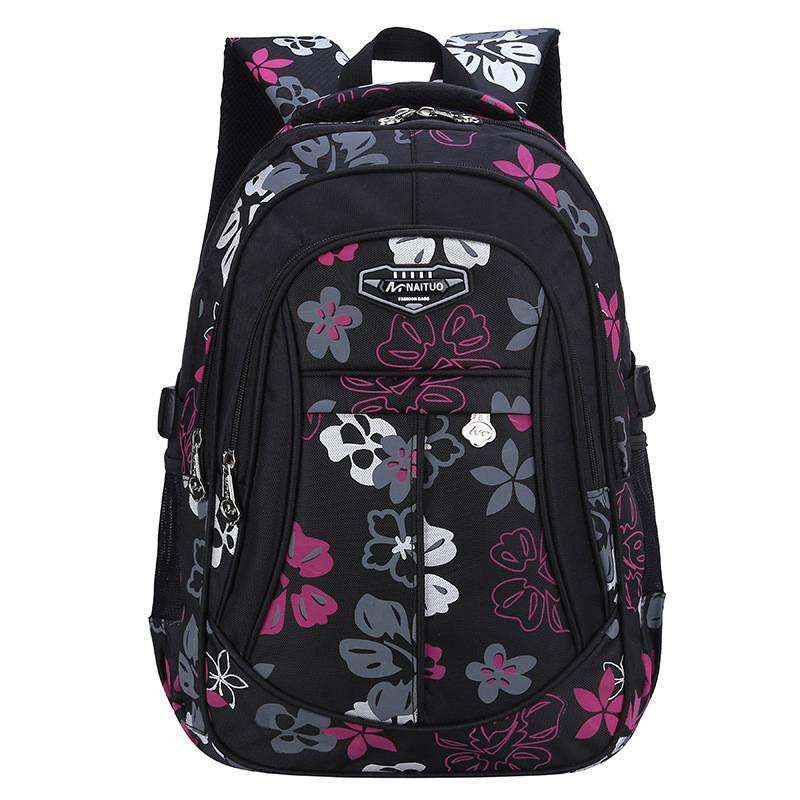 New Fashion Floral Printing Large Capacity School Bags For Girls Brand  Women Backpack Cheap Shoulder Bag Wholesale Kids Backpack Kids Backpacks  Back Pack ... b64b528c5b44f