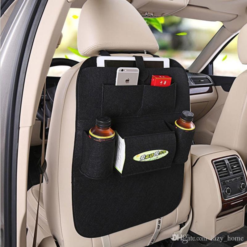 Auto Car Seat Back Multi Pocket Storage Bag Organizer Holder