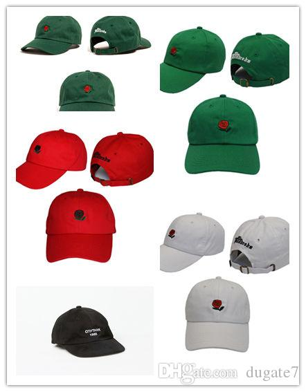 cab0b8e4 New The Hundreds Rose Snapback Caps snapbacks Exclusive customized design  Brands Cap men women Adjustable golf baseball hat casquette hats