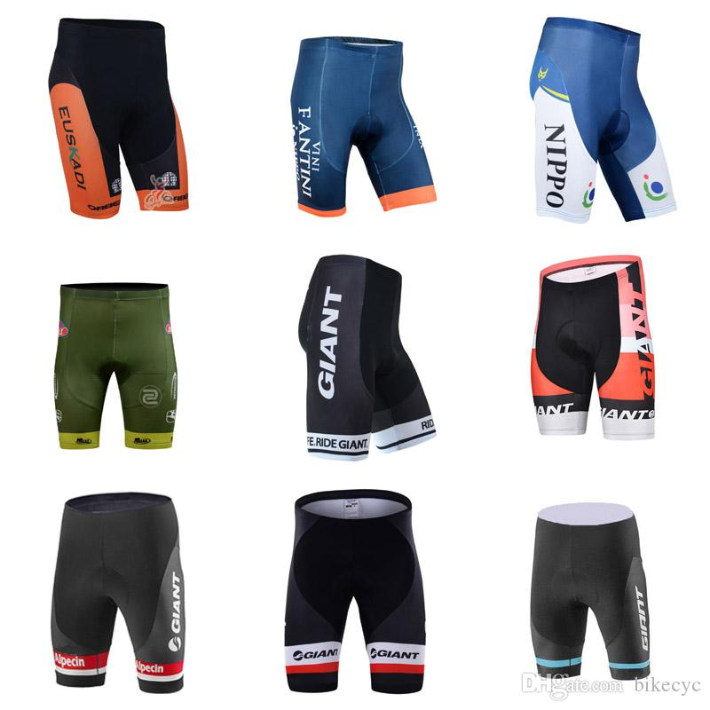 4ac155e08 EUSKALTEL FANTINI GIANT Team Cycling Shorts 2018 Summer Hot Mountain 100%  Polyester Quick Dry Clothes Ropa Ciclismo C2615 Best Mountain Bike Shorts  Mountain ...