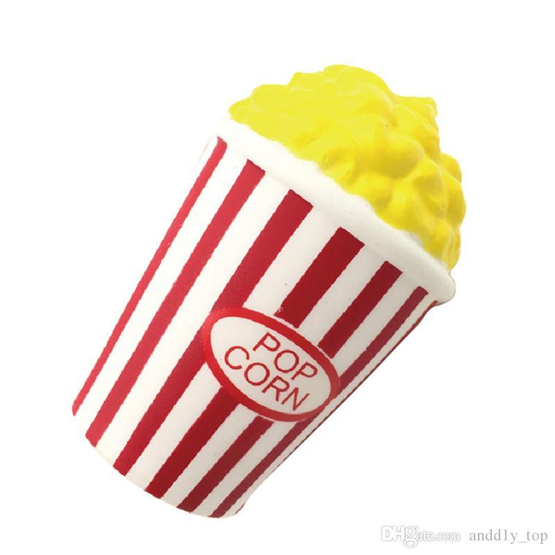 Popcorn lento Rising soffiato riso squishies giocattolo profumo di simulazione profumo relax jumbo decor regalo bambini squishy spedizione gratuita SQU006